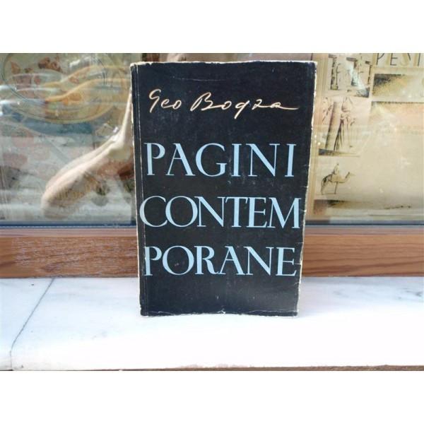 Pagini contemporane , Geo Bogza , 1957
