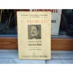Opere alese - versuri si proza , C. Negruzzi