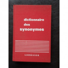DICTIONNAIRE DES SYNONYMES - LAROUSSE - Dictionar