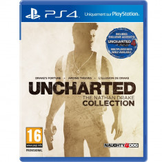Software joc Uncharted The Nathan Drake Collection PS4 Sony
