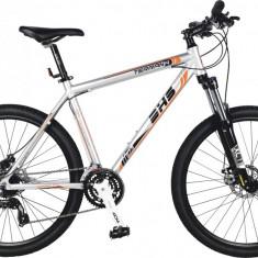 Bicicleta DHS Terrana 2725 Culoare Gri/Portocaliu 495mmPB Cod:21527254970 - Mountain Bike DHS, 19.5 inch