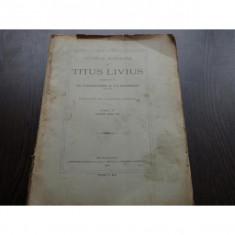 ISTORIA ROMANA - TITUS LIVIUS