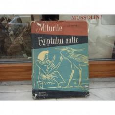 Miturile egiptului antic , M. E. Matie , 1958