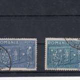 ROMANIA 1940 LP137 INTELEGEREA BALCANICA SERIE STAMPILATA - Timbre Romania