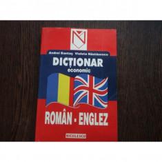 DICTIONAR ECONOMIC ROMAN - ENGLEZ