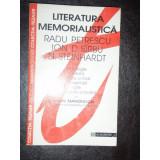 LITERATURA MEMORIALISTICA - RADU PETRESCU