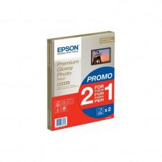 Epson Premium Glossy hartie foto A4 - 2x15 coli - 255g/mp (S042169) - Hartie foto imprimanta