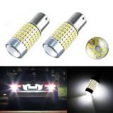 Bec led p21w ba15s 144 smd Puternic - Led auto, Universal