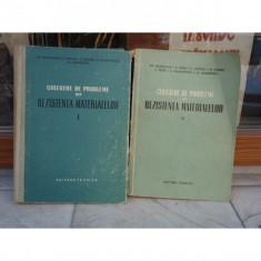 Culegere de probleme din resistetna materialelor (doua volume), Gh. Buzdugan, 1958