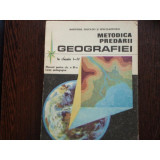 METODICA PREDARII GEOGRAFIEI LA CLASELE CLS. I -IV -
