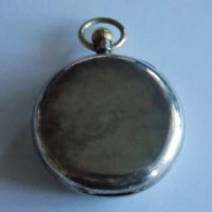 Ceas de buzunar din argint -Pontercraft-fusee? -1167