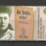 Germania.2005 100 ani PREMIUL NOBEL-Bertha von Sutter SG.1236 - Timbre straine, Nestampilat