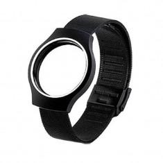 CUREA MISFIT SHINE METALICA BLACK - Curea ceas din metal