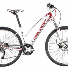 Bicicleta Devron Riddle Lady LH2.7 M 457/18 Crimson WhitePB Cod:216RL274592 - Mountain Bike Devron, Alb