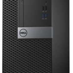 Sistem PC Dell OptiPlex 7040 MT (Procesor Intel® Core™ i5-6500 (6M Cache, up to 3.60 GHz), Skylake, 4GB, 500GB @7200rpm, Ubuntu, Tastatura+Mouse) - Sisteme desktop fara monitor