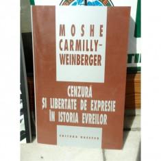 CENZURA SI LIBERTATE DE EPRESIE IN ISTORIA EVREILOR