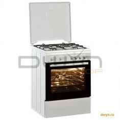 Aragaz Arctic AM6612DTTL_N, 4 arzatoare, aprindere electrica, grill, rotisor, timer, iluminare cupto
