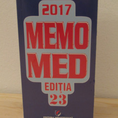 Memomed 2017 (2 vol.) -Dumitru Dobrescu