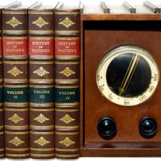 Rarisim radio colectie vechi deosebit Emerson History - library 1947 functional