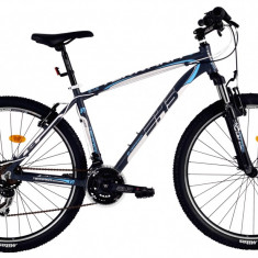 Bicicleta DHS Terrana 2723 (2016) Culoare Gri/Alb/Albastru 495mmPB Cod:21627234979 - Mountain Bike