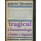 TRAGICUL O FENOMENOLOGIE A LIMITEI SI DEPASIRII - Filosofie