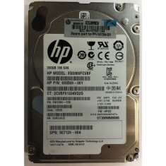 Harduri Server SAS 2.5 inch HP 300GB/10.000 ROTATII - HDD server HP, 300-499 GB