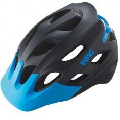 Casca WAG Negru/Albastru Marime M (54-58cm)PB Cod:588400294RM - Echipament Ciclism