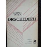 DESCHIDERI - LEONID DIMOV