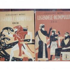 LEGENDELE OLIMPULUI - ALEXANDRU MITRU 2 VOLUME - Carte paranormal