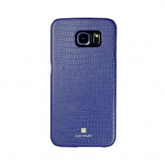 Carcasa Samsung Galaxy S6 Edge G925 Just Must Croco Navy