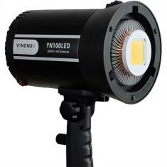 Yongnuo YN100 PRO LED 5500K cu montura de accesorii Bowens - Lampa Camera Video
