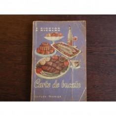 CARTE DE BUCATE - E. CIORTAN