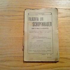 FILOZOFIA LUI SCHOPENHAUER * Lumea ca Vointa si ca Reprezentie - C.I. Navarlie - Filosofie