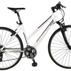 Bicicleta DHS Contura 2866 Culoare Alb 495mmPB Cod:21528664990 - Bicicleta de oras