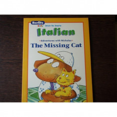 THE MISSING CAT - ADVENTURES WITH NICHOLAS - Carte personalizata