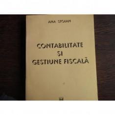CONTABILITATE SI GESTIUNE FISCALA - ANA STOIAN