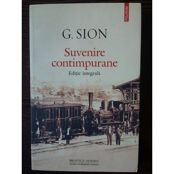 Suvenire Contimpurane - G.Sion foto mare