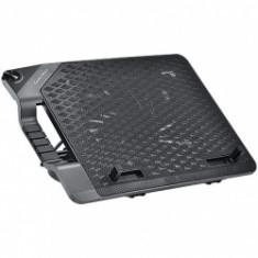 Stand notebook COOLER MASTER 17'. - NOTEPAL ERGOSTAND III, 1* fan 230mm, 4* USB & mini USB & micro U - Masa Laptop