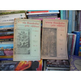 ISTORIA ROMANILOR PRIN CALATORI , N. IORGA , PATRU VOLUME