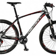 "Bicicleta Devron Riddle Race R7.7 Black Fury, M – 457/18""PB Cod:215RM774562 - Mountain Bike"