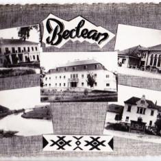 A63 RPR CP circulata 1977 Beclean vedere multipla jud Bistrita Nasaud - Carte Postala Transilvania dupa 1918, Fotografie