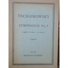 TSCHAIKOWSKY - SIMFONIA NR.5 OPUS 64