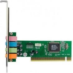 Placa de sunet 4World PCI CMI8738 4-canale - Placa de sunet PC