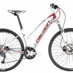 Bicicleta Devron Riddle Lady LH2.7 XS 394/15.5 Crimson WhitePB Cod:216RL273992 - Mountain Bike Devron, Alb