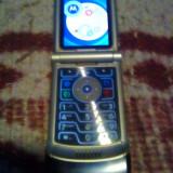 Vand Motorola Razer V3 - Telefon Motorola, Albastru, Nu se aplica, Vodafone, Fara procesor