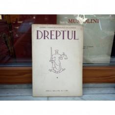 DREPTUL ANUL I SERIA A III-A NR.7 1990 , Cursuri