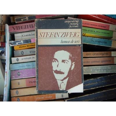 Lumea de ieri , Stefan Zweig , 1988 foto