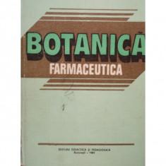 BOTANICA FARMACEUTICA - AVRAM RADU