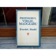 PROFESORUL VIRGIL MADGEARU EVOCARI STUDII , Virgil Madgearu , 1987