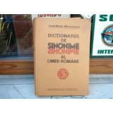 Dictionarul de sinonime al limbii romane , Luiza Seche